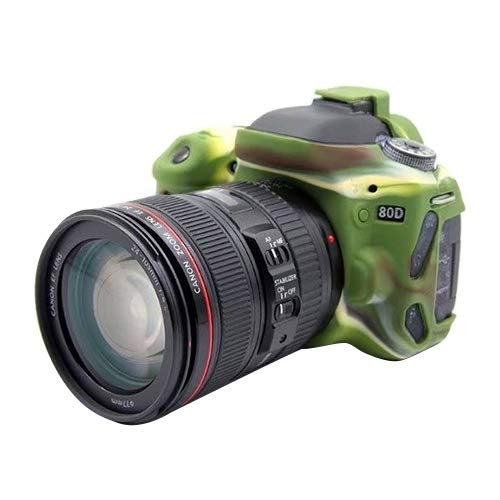 ShenBiadolr ネオプレン カメラケース Canon EOS 80D用 ソフトシリコン保護ケース (サイズ : Pu7104a) B07L1JDSGL