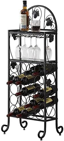 VECELO 20 Wine Rack Table