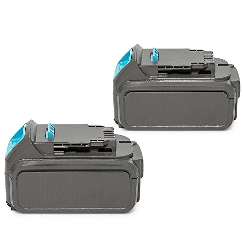 NeBatte 2 Pack 20v 5.0ah Max Lithium Ion Replacement Battery Compatible with Dewalt Max XR DCB204 DCB205 DCB205-2 DCB200 DCB180 DCD985B DCD771C2 DCS355D1 DCD790B