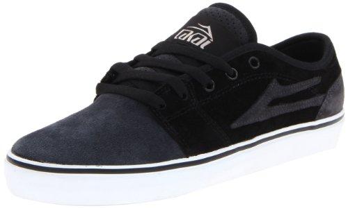 Lakai Judo Skate Shoe Black Grey Suede (11.5)