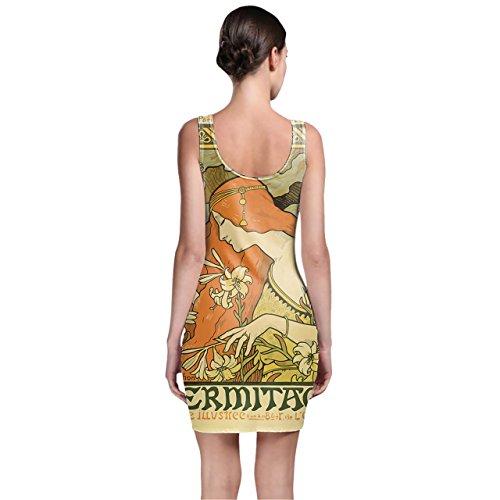 Queen of Cases - Robe - Moulante - Sans Manche - Femme vert vert One Size