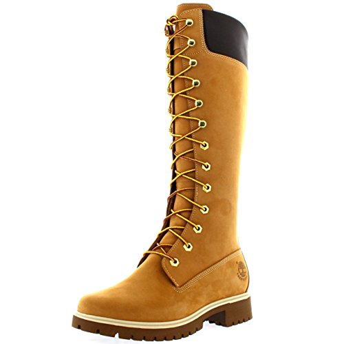 Premium Imbottiti WP a Gamba TimberlandWomen's Corta Boot FTW Classici Nero Premium 14in Donna Stivali Women's dxaazXvq