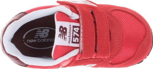 New Balance KV574 M 354720-40 Unisex-Kinder Sneaker Rot - Rouge (Ruby)