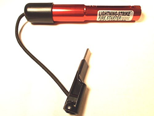 Red Standard Lightning Strike Fire Starter by Holland