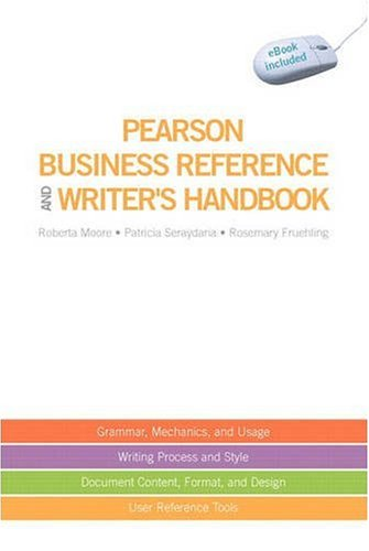 Pearson Business Reference and Writer's Handbook (with downloadable ebook access code)