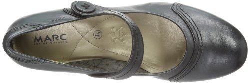 Marc Shoes Lea - Cerrado de cuero mujer negro - Schwarz (black 100)