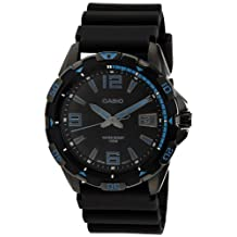Casio Men's MTD-1065B-1A1VDF Analog Resin Band Watch