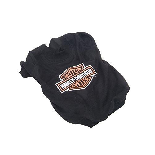 Harley Davidson Dog Clothes - Harley Bar and Shield Dog T-Shirt Large