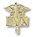 Prestige Medical Licensed Vocational Nurse Caduceus, 0.10 Ounce