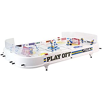 Amazon.com: Stiga Play Off Table Hockey Game: Toys & Games