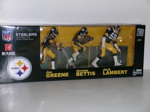 Mcfarlane Toys, Pittsburgh Steelers Legends 3-Pack (Joe G...
