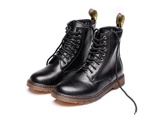 Martin boots men's high soft leather high-end comfortable lace shoes , 39