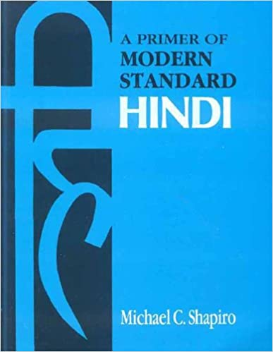 Book Primer of Modern Standard Hindi
