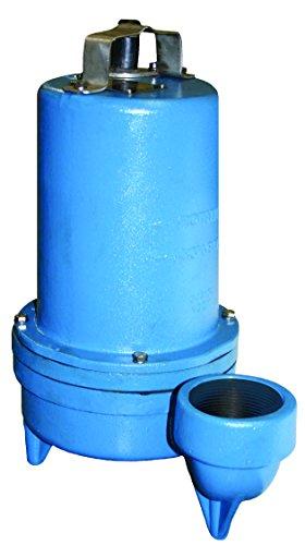 Barnes 109975 Model 3SF1074L Submersible Fountain Pump, 1 hp, 200-240V, 1 Phase, 215 GPM, 3