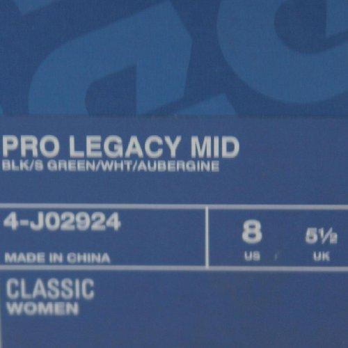 Reebok Pro Legacy Midden (zwart / S Groen / Wit / Aubergine)