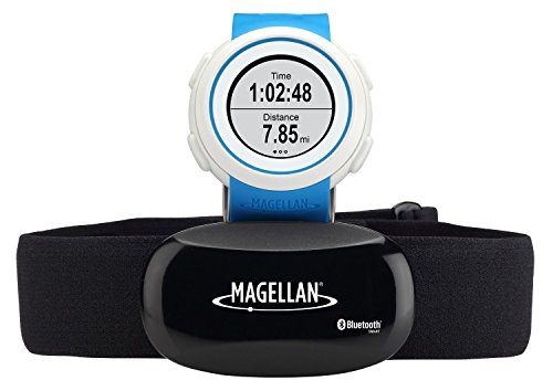 Price comparison product image Magellan Echo Smart Sports Watch with Heart Rate Monitor-Bluetooth Smart (Blue)
