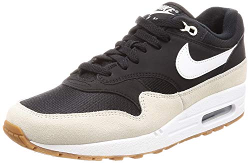 Nike Air Max 1 Men's Shoes Black/White/Light Bone ah8145-009 (8.5 D(M) US)