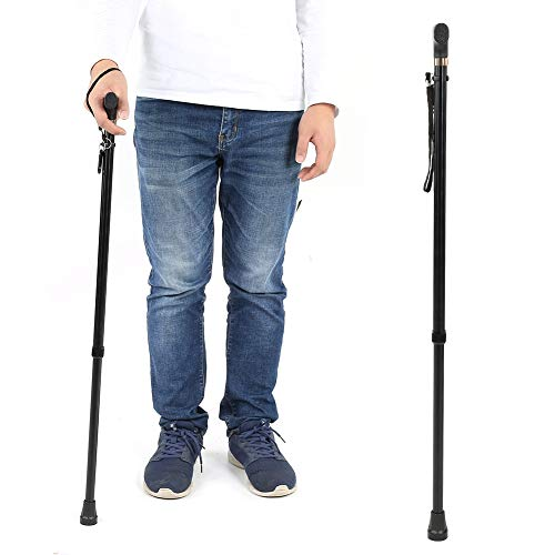 Walking Sticks with T Handle,10 Height Level Adjustment,, used for sale  Delivered anywhere in Canada