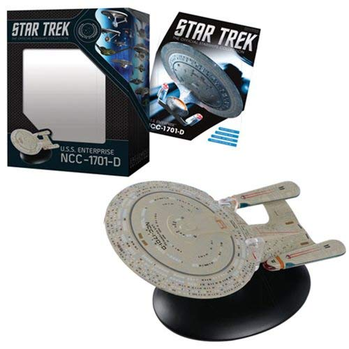 (Star Trek The Official Starships Collection #1: USS Enterprise NCC-1701D Ship Replica)