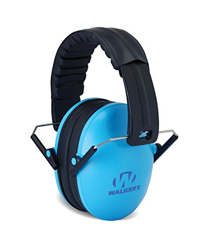Walker's Children-Baby & Kids Hearing Protection/Folding Ear Muff, Blue