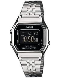 LA680WEA-1BEF Silver Tone Steel Bracelet watch