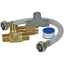 Camco 35983 Quick Turn Permanent By-Pass Kit - Lead Free