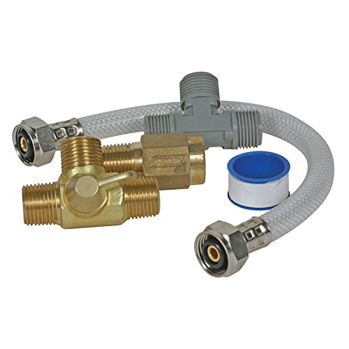 Bypass Valve - Camco 35983 Quick Turn Permanent By-Pass Kit - Lead Free