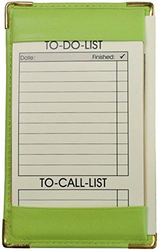 Royce Leather 704-5 Note Jotter (Key Lime Green)