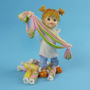 Amazon.com: My Little Kitchen Fairies from Enesco Girl Pulling ...