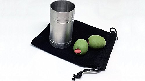 SpiritShot Measure Chop Cup with Olives By Mike Busby