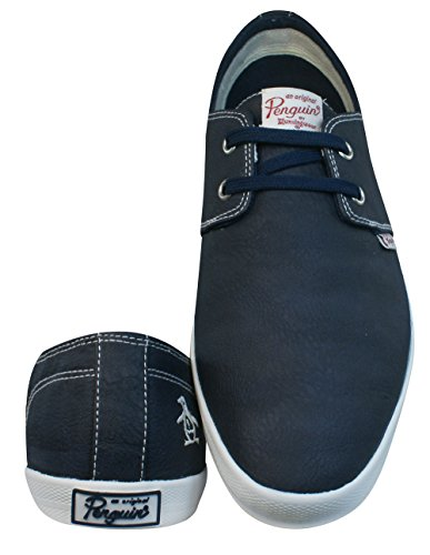 Penguin Clive Mens Sneakers / Shoes Navy ZueZV02XI