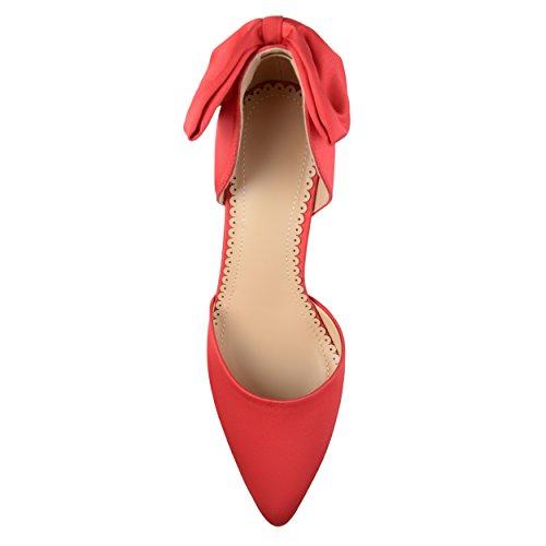 Pump Women's Brinley Red TACI Co t7qaqwn4