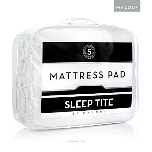 picture of Sleep Tite by Malouf MATTRESS PAD Quilted Mattress Pad - Filled with Gelled Microfiber - Queen