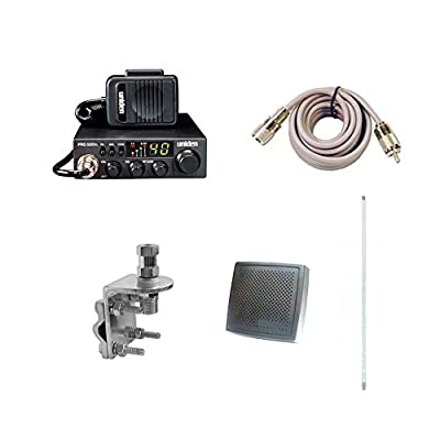 Pro Trucker Complete CB Radio Kit Includes Radio, 4' Antenna, Coax, Speaker, and Mount Full Kit Easy to Install by Pro Trucker