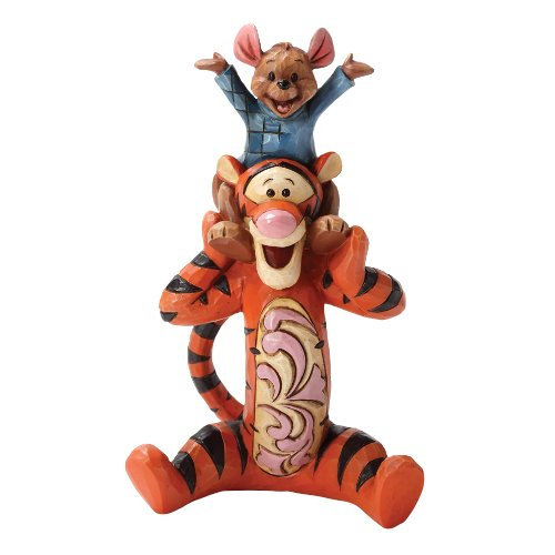 Disney Traditions by Jim Shore Tigger and Roo Stone Resin Figurine