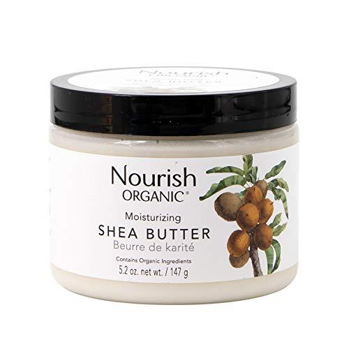 Nourish Organic Intensely Moisturizing Fair Trade Shea Butter, 5.5 Ounce