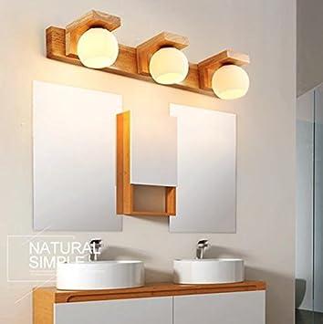 FWEF aus Holz drei Kopf Lampe IKEA Nordic aus echtem Holz ...