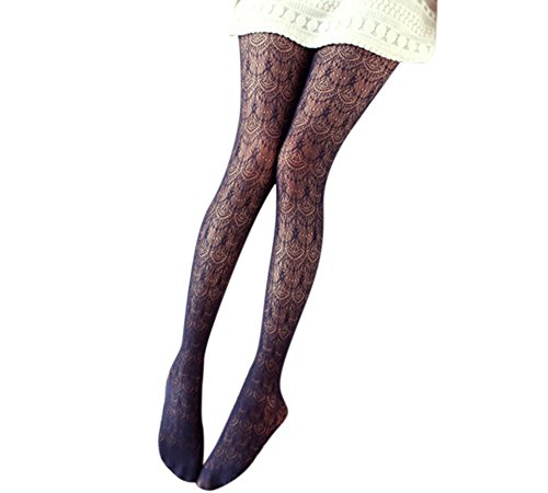 Eliffete Navy Fishnet Pantyhose Long Socks 2017 Stockings Lace Tights for Women