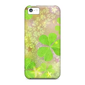 Ideal Whcases Case Cover For Iphone 5c(clover Leaves 2), Protective Stylish Case by icecream design