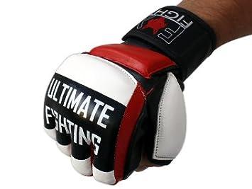 LEGEND MMA Handschuhe professionelle hochwertige Qualit/ät echtes Leder Boxhandschuhe Sandsack Training Grappling Sparring Muay Thai Kickbox Freefight Kampfsport BJJ Sandsackhandschuhe Gloves FOX-FIGHT