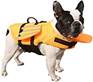 PROTAURI Pet Life Jacket Dog Lifesaver Safety Reflective Vest Pet Life Preserver Dog Saver Life Vest Coat Swim