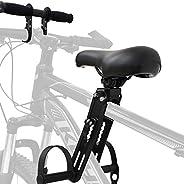 VELIHOME Kids Bike Seat for Mountain Bikes,Front-Mounted Kids Bike Seat for Active Riding,Front Mounted Bicycl