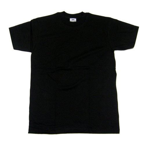 Pro Club Heavyweight T-Shirt 100% Cotton Black Regular 4XL Photo #3