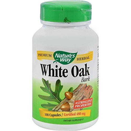 (Natures Way White Oak Bark - 100)
