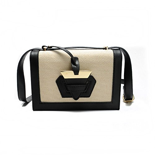 FZHLY Primavera E L'estate Nuovo Pacchetto Femminile Di Moda Shoulder Bag Messenger Bag,Black
