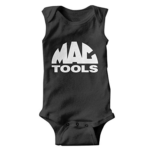 Price comparison product image ORYSJDGTS Kids Sleeveless MAC-Tools-Logo- Funny Onesie for Cute Baby Girl Boy