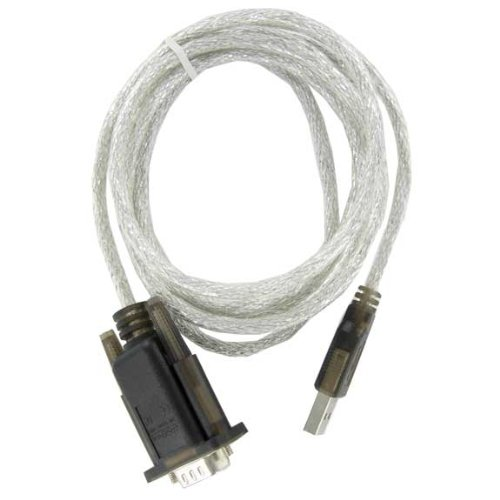 SF Cable, 6 ft USB to Serial RS232 DB9 Adapter with Screw (Prolific Chipset) by SFCable (Image #3)