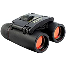 Sminiker Professional 30x60 Folding Binoculars Telescope for Travel and Sports Bird Watching (Black)
