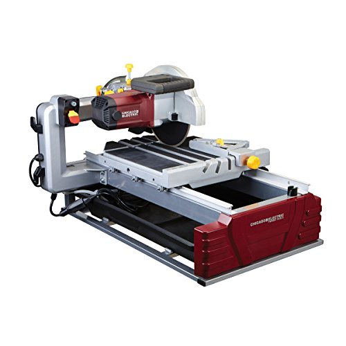 Review 2.5 Horsepower 10″ Industrial Tile/Brick Saw