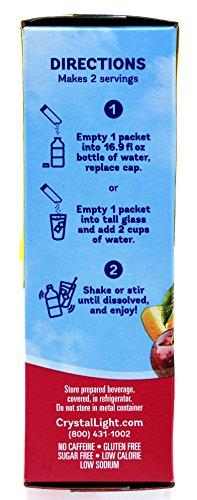 Crystal Light On The Go Fruit Punch Drink Mix, 10-Count Boxes (Pack of 45) by Crystal Light (Image #3)